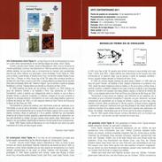 ART CONTEMPORAIN - Antoni Tapies - DOCUMENT INSTRUCTIF DE L´ÉMISSION DE TIMBRE ESPAGNE - España
