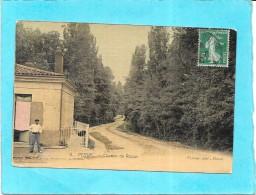PESSAC - 33 -   CPA COLORISEE RARE - Chemin De Razon - ENCH - - Pessac