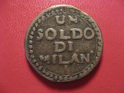 Italie - Siège De Mantoue - Soldo De Milan An VIII 3998 - Regional Coins