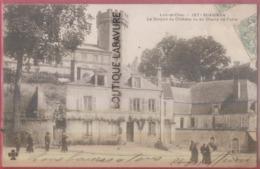 41 - SAINT AIGNAN----(ST AIGNAN)  -Le Donjon Du Chateau Vu Du Champ De Foire--animé - Saint Aignan