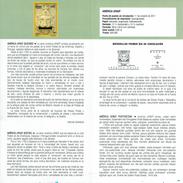 AMÉRIQUE UPAEP - MAILBOXES - LION - DOCUMENT INSTRUCTIF DE L´ÉMISSION DE TIMBRE ESPAGNE - España