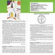 FASHION ESPAGNOLE - ELIO BERHANYER - DOCUMENT INSTRUCTIF DE L´ÉMISSION DE TIMBRE ESPAGNE - España