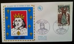 FDC 1967 - YT N°1539 - SAINT LOUIS - PARIS - FDC