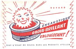 Buvard   Encaustique Radia Brillant - Blotters