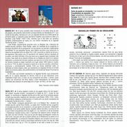 NOËL - ADORATION AU ENFANT - PREMIERS PAS DE JÉSUS - DOCUMENT INSTRUCTIF DE L´ÉMISSION DE TIMBRE ESPAGNE - Sin Clasificación