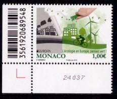 "MONACO EUROPA 2016 ""Think Green"" Set Of 1v** - 2016"