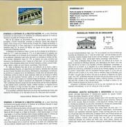 CENTENAIRE DE LA BIBLIOTHÈQUE NATIONALE - DOCUMENT INSTRUCTIF DE L´ÉMISSION DE TIMBRE ESPAGNE - España