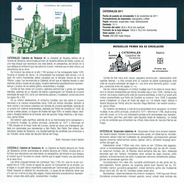CATHÉDRALE DE TARAZONA - DOCUMENT INSTRUCTIF DE L´ÉMISSION DE TIMBRE ESPAGNE - España