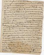 VP6038 - Lettre - Curé ? -  Discours Pour Un Mariage - Manuscritos