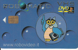 GREECE - Robovideo, Video Club, Member Card, Chip ORGA, Used - Andere Sammlungen