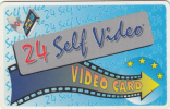 GREECE - 24 Self Video Club, Magnetic Member Card, Used - Unclassified