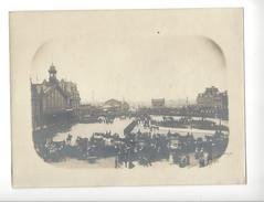 Arras , Grand ' Place - Gare  - Revue Militaire 23.5. 1904  ( Visite Loubet - Exposition ) Format Visuel Env. 13 X 20 Cm - Photographs