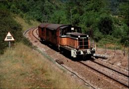 39 - VAUX-LES-SAINT-CLAUDE - Train Locomotive - France