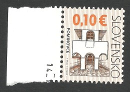 Slovakia, 0.10 E. 2009, MNH - Slovacchia