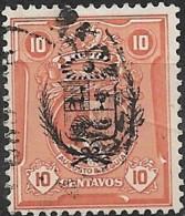 PERU 1930 Fall Of Leguia Govt - Optd With Arms Of Peru - 10c. - Red  FU - Peru