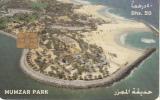 U.A.E. - Mumzar Park, Dubai Municipality Parking Card Dhs.50, Used - Andere Sammlungen