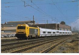 CPM ESPAGNE Tren TALGO XXI  Explications Au Dos De La Carte - Trenes