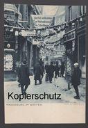 ALTE POSTKARTE MAGDEBURG IM WINTER Weihnachtsmesse Im Schwibbogen Max Mahlecke AK Ansichtskarte Postcard Cpa - Magdeburg