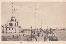 G , Cp , 76 , LE HAVRE , La Jetée Et Le Sémaphore - Port