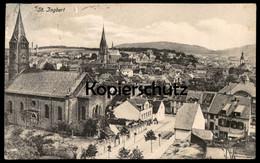 ALTE POSTKARTE ST. INGBERT AK Ansichtskarte Postcard Cpa - Saarpfalz-Kreis