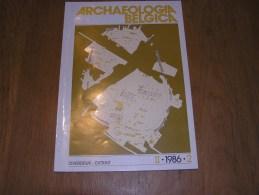 ARCHAEOLOGIA BELGICA Extrait 2 Année 1986 Régionalisme Ardenne Histoire Archéologie  Vaux Sur Sûre Sibret Villeroux - Belgique