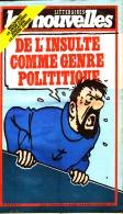 "TINTIN Cpt HADDOCK "" LES NOUVELLES LITTERAIRES "" N° 2836 Du 19/05  1982 "" - Tintin"