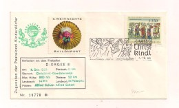 Christkindl-Beleg - Stempel 4.12.1966 - Als 6. Weihnachts-Ballonpost - RARITÄT - Austria