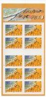 Timbres - Bonne Vacances - 2001 - Faciale 30.00 Fr (valeur 4.60 €) - Carnet N° 3399 - Commemoratives