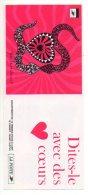 Timbres - Saint Valentin 2000 - Dites-le Avec Des Fleurs - Faciale 30.00 Fr (valeur 4.60 €) - Carnet N° 3298 - Markenheftchen