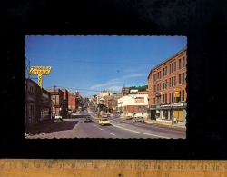 SHERBROOKE Quebec Canada : Rue King Vers L'Ouest King Street West 1980 Terminus Autobus Central - Sherbrooke