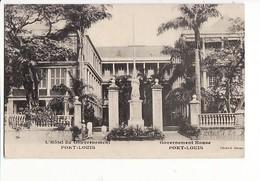 Ile Maurice - L'Hôtel Du Gouvernement Port-Louis / Cliché G. Rehau - Mauritius