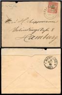 BC - Heligoland. 1890 (30 July). Heligoland - Hamburg. Env Fkd 2 1/2d / Cds. Arrival Reverse.. Carta, Cover, Letter, ... - Unclassified