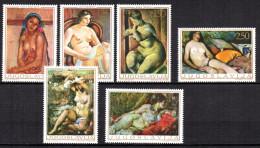 5/  Yougoslavie  N° 1242 à 1247 Neuf XX MNH Cote : 7,00 € - Oblitérés