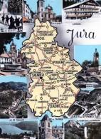 39 -  JURA - Carte Du Département Cim - Sonstige Gemeinden