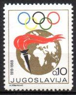 5/  Yougoslavie  N° 1256 Neuf XX MNH Cote : 3,00 € - 1945-1992 République Fédérative Populaire De Yougoslavie