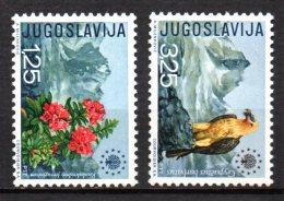 5/  Yougoslavie  N° 1291 à 1292 Neuf XX MNH Cote : 17,50 € - 1945-1992 République Fédérative Populaire De Yougoslavie