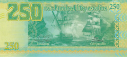 Tortuga, 250 Escalins, Two Sailing Ships In Broadside Attack - Haiti