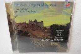 """CD """"Historic Organs Of Austria"""" Schlägl Klosterneuburg, Gustav 'Leonhardt - Klassik"""