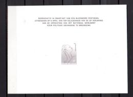 Mémorial De Breendonk 1928 Et Floralies Gantoises 1966-68  Tirage Limité En Noir - Feuillets Noir & Blanc