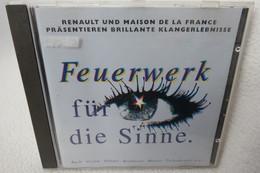 """CD """"Feuerwerk Für Die Sinne"""" Brillante Klangerlebnisse, Bach, Vivaldi, Händel, Beethoven, Mozart, Tschaikowsky U.a. - Klassik"""