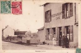 CPA - 45 - ASCOUX - Restaurant De La Gare - Altri Comuni