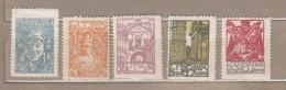 MITTELLITAUEN LITHUANIA CENTRAL 1920 Mi 14A-18A Mint(*) #20525 - Lituanie