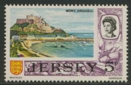 Jersey 1970 Mi 42 YT 36 ** Mont Orgueil Castle By Day  - Decimal Value / Schloss Mont Orgueil Und Hafen (Dezimalwährung) - Kastelen