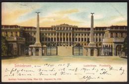 Austria Vienna Wien 10. 7. 1907 / Schonbrunn / Lustschloss, Frontseite / Castle - Castello Di Schönbrunn