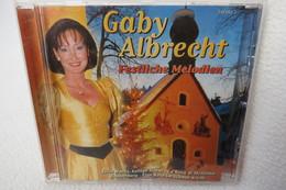 """CD """"Gaby Albrecht"""" Festliche Melodien - Chants De Noel"""