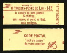 FRANCE - CARNET YT 2102-C3 - OUVERT - Confectionneuse 7 - Markenheftchen