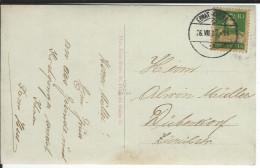 SBK 153, Mi 164 Ebnat-Kappel 26.7.1922 - Lettres & Documents