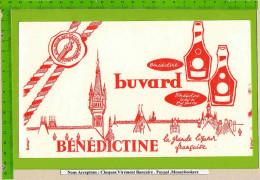 BUVARD : BENEDICTINE  La Grande Liqueur Française - Liquor & Beer