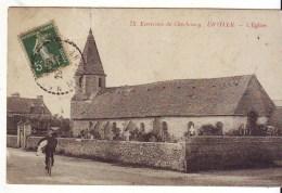 Cpa  Urville  L'église - France