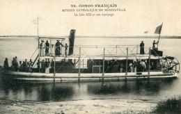 CONGO(BRAZZAVILLE) BATEAU A VAPEUR - Brazzaville